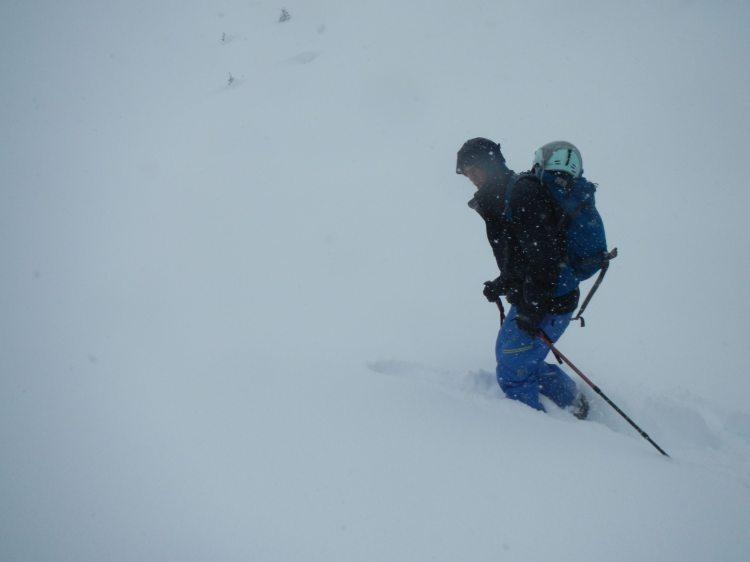 Gore Range snowstorm